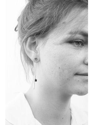Zilveren ONNO oorsteker | OS0367B | thumbnail image