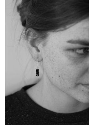 Zilveren ONNO oorsteker | OS0368BRH | thumbnail image