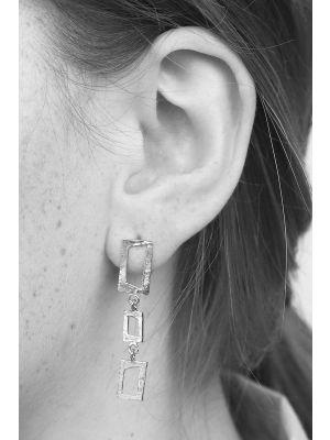 Zilveren ONNO oorsteker | OS0373RH | thumbnail image