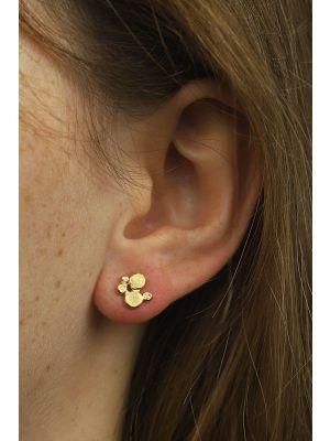 18 Kt vergulde zilveren ONNO oorsteker | OS0375PL | thumbnail image