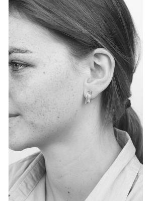 Zilveren ONNO oorsteker | OS0382RH | thumbnail image