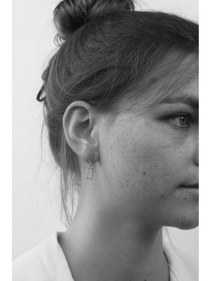 Zilveren ONNO oorsteker | OS0397 | Base image