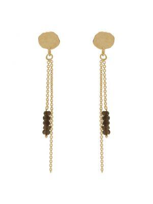 18 Kt gouden ONNO oorsteker | OS0398SAUG | Base image