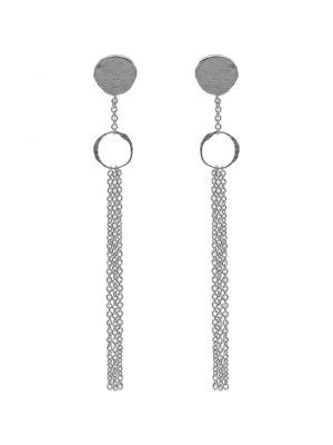 Zilveren ONNO oorsteker met rhodium | OS0401RH | Base image