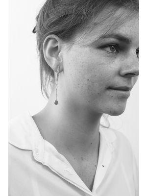 Zilveren ONNO oorsteker | OS0402 | Base image