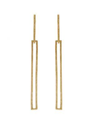 18 Kt vergulde zilveren ONNO oorsteker | OS0403PL | Base image