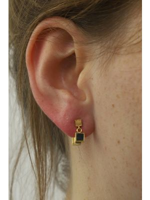 18 Kt gouden ONNO oorsteker | OS0409AUG | Base image