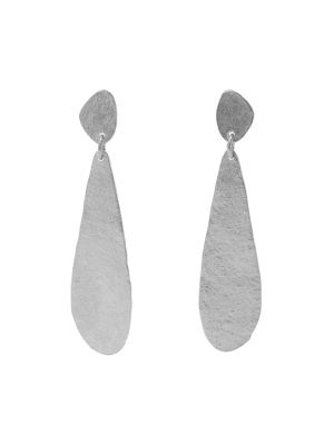 Zilveren ONNO oorsteker met rhodium | OS0411RH | Base image
