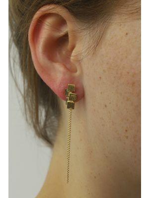 18 Kt gouden ONNO oorsteker | OS0413AUG | Base image