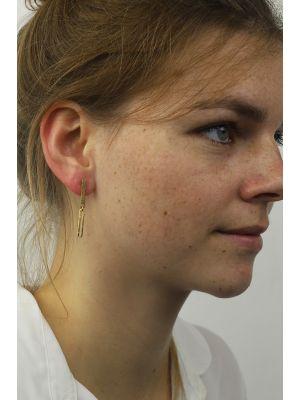 18 Kt gouden ONNO oorsteker | OS0419AUG | Base image