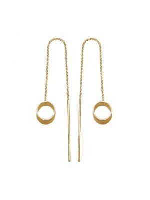 18 Kt vergulde zilveren ONNO oorsteker | OS0420PL | Base image