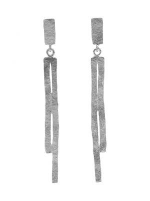 Zilveren ONNO oorsteker met rhodium | OS0424RH | Base image