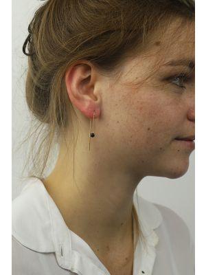 18 Kt vergulde zilveren ONNO oorsteker | OS0425PL | Base image