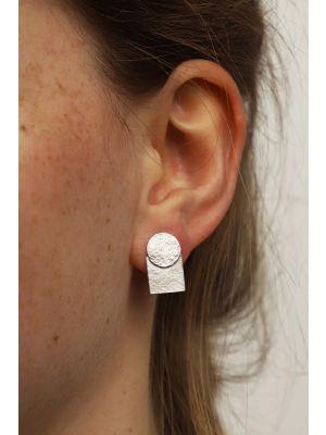 Zilveren ONNO oorsteker | OS0435