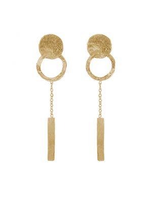 18 Kt gouden ONNO oorsteker | OS0440AUG