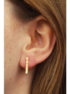 18 Kt gouden ONNO oorsteker | OS0441AUG
