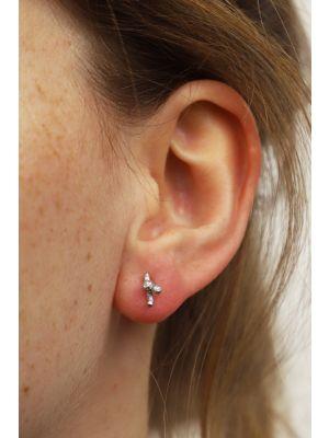 Zilveren ONNO oorsteker | OS0442