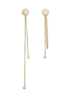 18 Kt vergulde zilveren ONNO oorsteker | OS0444PL