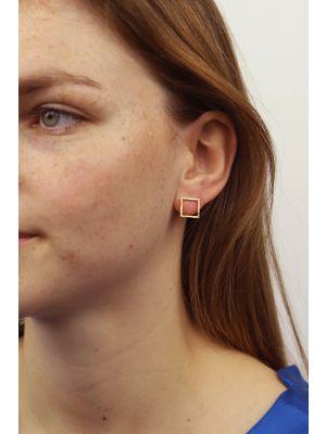 18 Kt gouden ONNO oorsteker | OS0446AUG