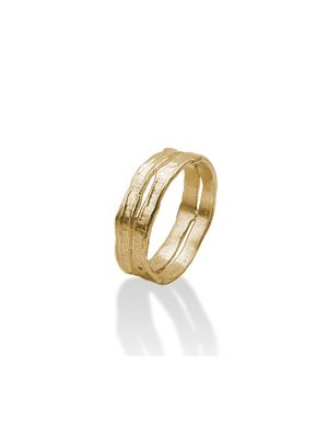 18 Kt vergulde zilveren ONNO ring | R0016PL | thumbnail image