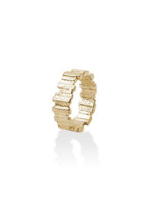18 Kt vergulde zilveren ONNO ring | R0035PL | thumbnail image