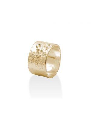 18 Kt vergulde zilveren ONNO ring | R0081PL | thumbnail image