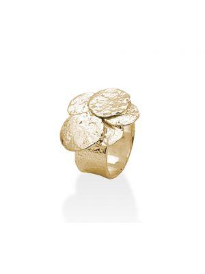 18 Kt vergulde zilveren ONNO ring | R0091PL | thumbnail image