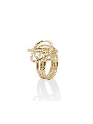 18 Kt vergulde zilveren ONNO ring | R0101PL | thumbnail image