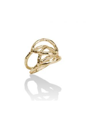 18 Kt vergulde zilveren ONNO ring | R0124PL | thumbnail image