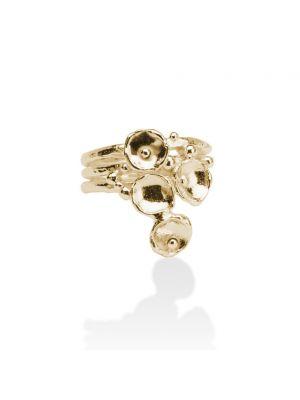 18 Kt vergulde zilveren ONNO ring | R0129PL | thumbnail image