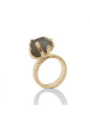 18 Kt vergulde zilveren ONNO ring | R0152SPL | thumbnail image