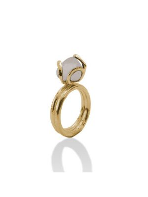 18 Kt vergulde zilveren ONNO ring | R0158RPL | thumbnail image