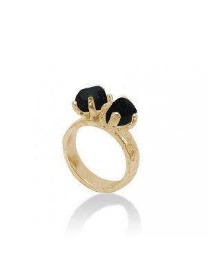 18 Kt vergulde zilveren ONNO ring | R0164BPL | thumbnail image