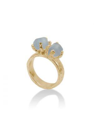 18 Kt vergulde zilveren ONNO ring | R0164CPL | thumbnail image