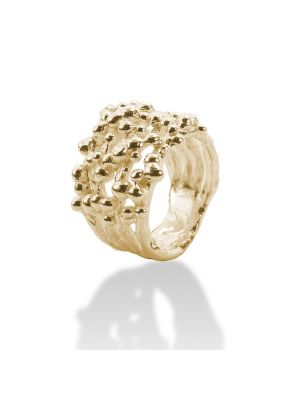 18 Kt vergulde zilveren ONNO ring | R0209PL | thumbnail image