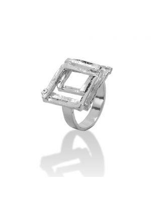 Zilveren ONNO ring | R0226RH | thumbnail image
