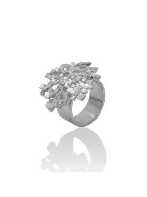 Zilveren ONNO ring | R0278 | thumbnail image