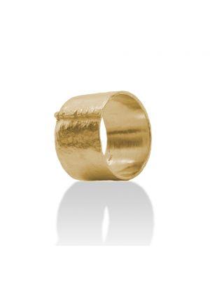 18 Kt vergulde zilveren ONNO ring | R0280PL | thumbnail image