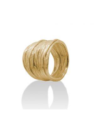 18 Kt vergulde zilveren ONNO ring | R0290PL | thumbnail image