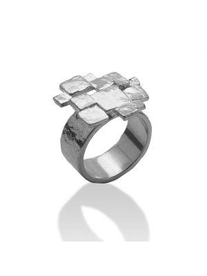 Zilveren ONNO ring | R0296RH | thumbnail image