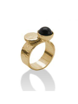 18 Kt vergulde zilveren ONNO ring | R0300PL | thumbnail image