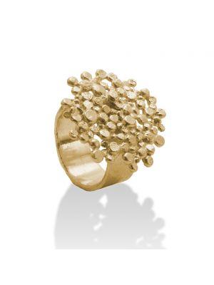 18 Kt vergulde zilveren ONNO ring | R0303PL | thumbnail image