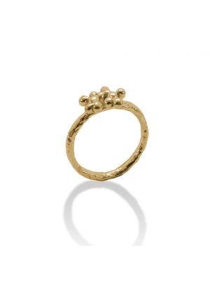 18 Kt vergulde zilveren ONNO ring | R0316PL | thumbnail image