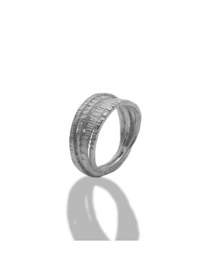 Zilveren ONNO ring | R0341 | Base image