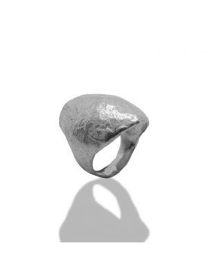 Zilveren ONNO ring met rhodium | R0344RH | Base image