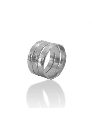 Zilveren ONNO ring | R0355 | Base image