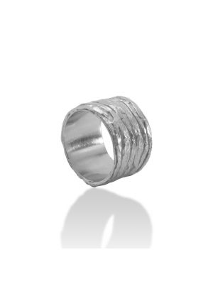 Zilveren ONNO ring | R0356 | Base image