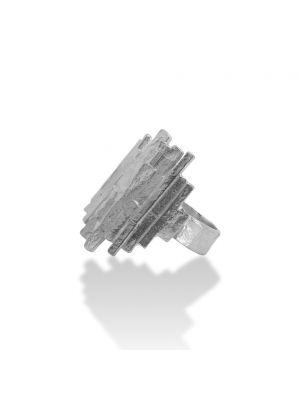 Zilveren ONNO ring | R0357 | Base image