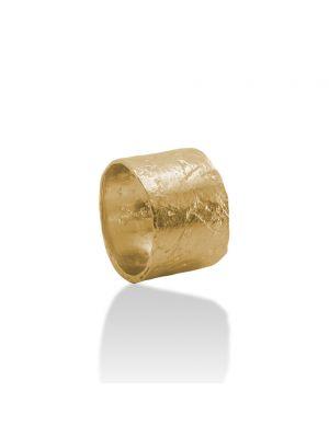 18 Kt vergulde zilveren ONNO ring | R0360PL
