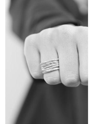 Zilveren ONNO ring | R0362 | Base image
